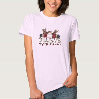 Santa Believe T-shirts and Gifts