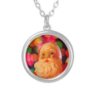 Santa Bokeh Necklace