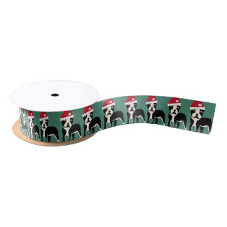 Santa Boston Satin Ribbon