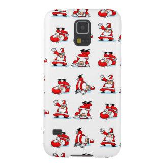 Santa Breakdance Wallpaper Galaxy S5 Cases