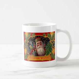 Santa Bringing Presents Coffee Mug