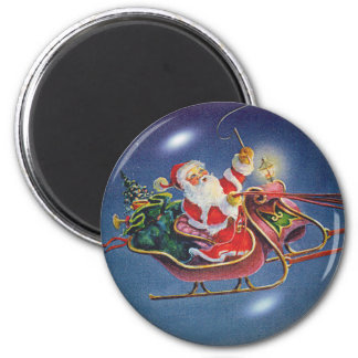 SANTA BUBBLE by SHARON SHARPE Magnet