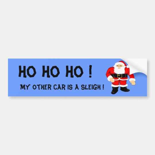 Santa Bumper Sticker