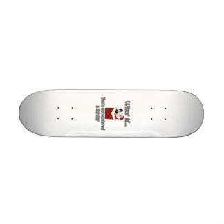 Santa burglar skateboard decks