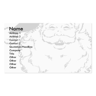 Santa Business Card