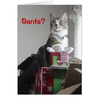 Santa? Card