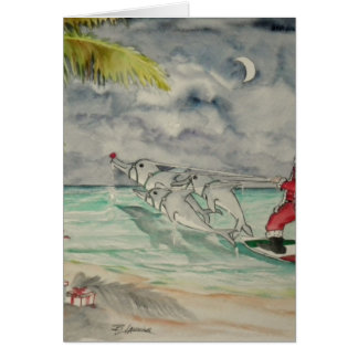 Santa Caribbean Style.jpg Card