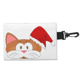 Santa Cat Accessories Bag