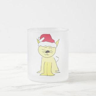 Santa Cat Christmas Mug