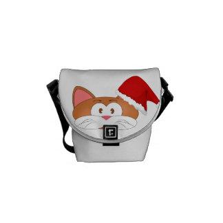 Santa Cat Commuter Bags