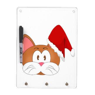 Santa Cat Dry Erase Whiteboards