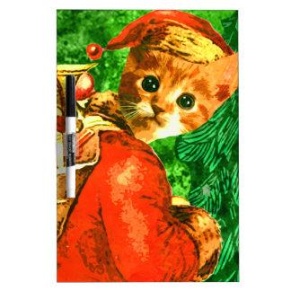 Santa Cat Dry-Erase Boards