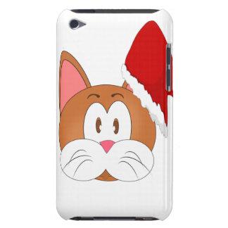 Santa Cat iPod Case-Mate Cases
