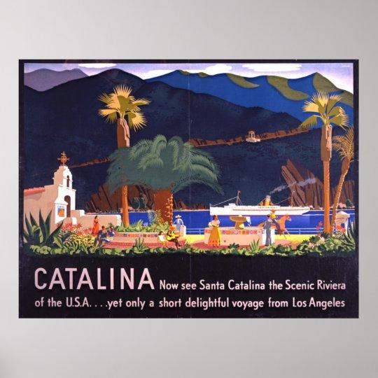 Santa Catalina Island 1935 Poster