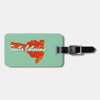 Santa Catarina Luggage Tag