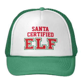 Santa Certified Elf Cap