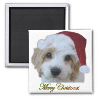 Santa Chase Fridge Magnets