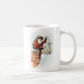 Santa Chimney Coffee Mug