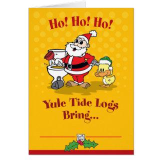 Santa Christmas Card cb108