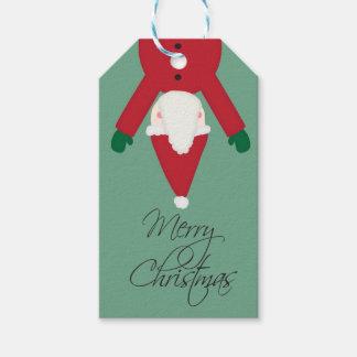 Santa Christmas Gift Tag