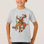Santa Christmas Rodeo T-shirts