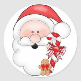 Santa Christmas Sticker