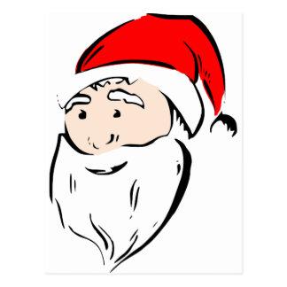 Santa Christmas Winter December Peace Love Destiny Post Cards