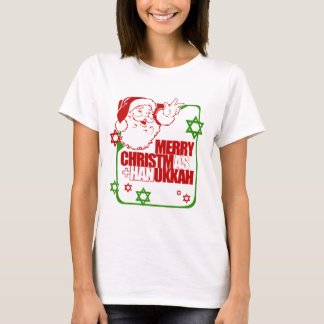 Santa Christmukkah T-Shirt
