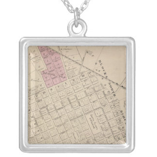 Santa Clara, CA Silver Plated Necklace