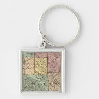 Santa Clara Co index map Key Ring