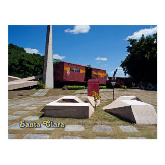 Santa Clara, Cuba. The derailed train 3 Postcard