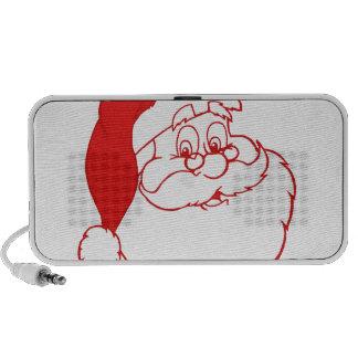 Santa claus2 notebook speakers