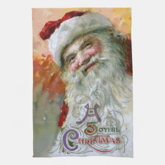 Santa Claus 2 Tea Towel
