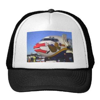 SANTA CLAUS AIRLINER MID-AIR HATS
