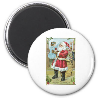 Santa Claus and Baby Magnets