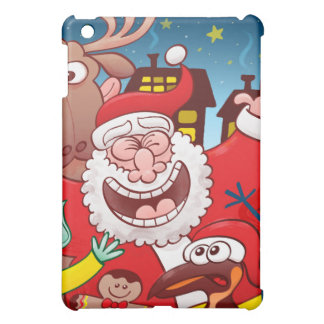 Santa Claus and his team are ready for Christmas iPad Mini Cover