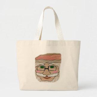 Santa Claus Art Canvas Bag