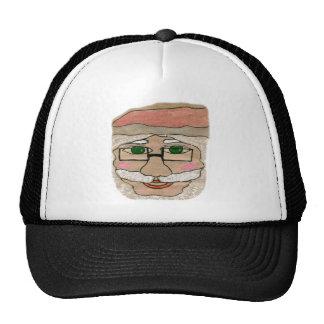 Santa Claus Art Cap
