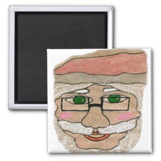 Santa Claus Art Refrigerator Magnet