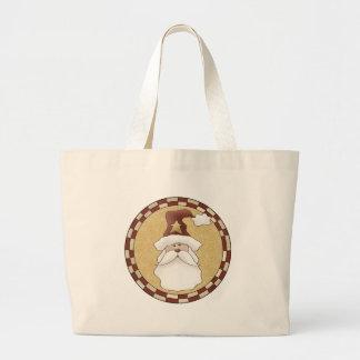 Santa Claus Canvas Bags