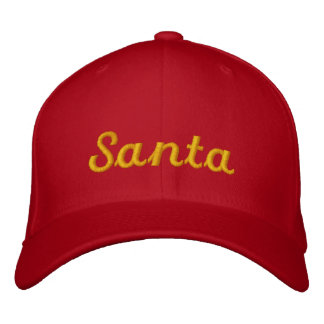 Santa Claus Ball Cap