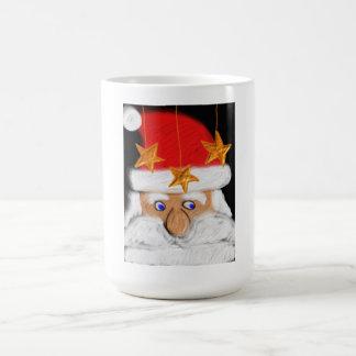 Santa claus basic white mug