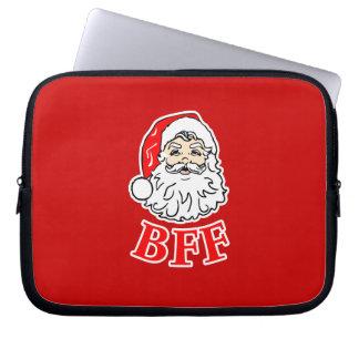 Santa Claus BFF Bestie! Laptop Sleeve