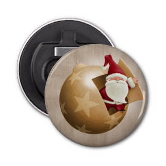 Santa Claus Bottle Opener