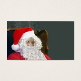 Santa Claus Business Card