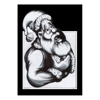 Santa Claus Large Business Cards (Pack Of 100)