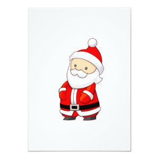 Santa Claus cartoon 5x7 Paper Invitation Card