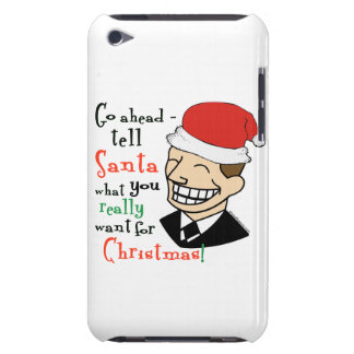 Santa Claus Case-Mate iPod Touch Case