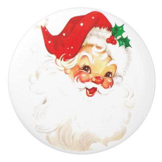 Santa Claus Ceramic Knob