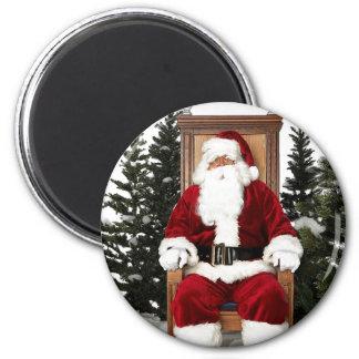 Santa Claus Chair Magnet